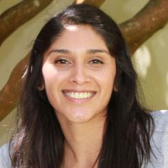 Victoria Munguia, recipient of the 2013 Johnston-Aronoff Award